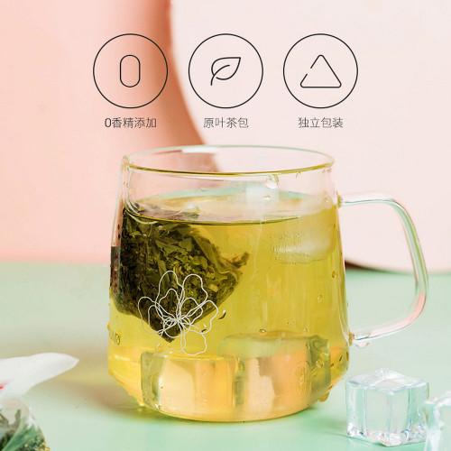 Organic Tra Sam Dua Vietnamese Green Tea 12 Pyramid Tea Bags