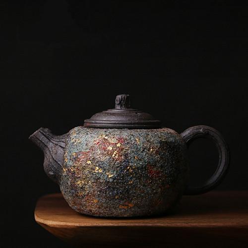 Yan Kuang Dead Wood Ceramic Chinese Kung Fu Tea Teapot 220ml
