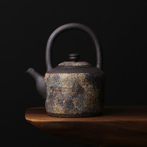 Yan Kuang Ti Liang Hu Ceramic Chinese Kung Fu Tea Teapot 270ml
