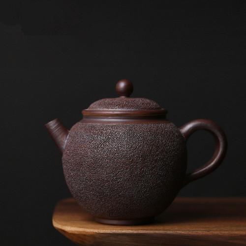 Ice Smoke Ceramic Chinese Kung Fu Tea Teapot