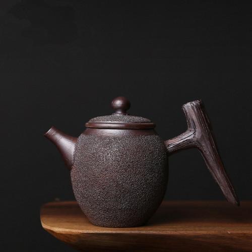 Ya Ba Ice Smoke Ceramic Chinese Kung Fu Tea Teapot
