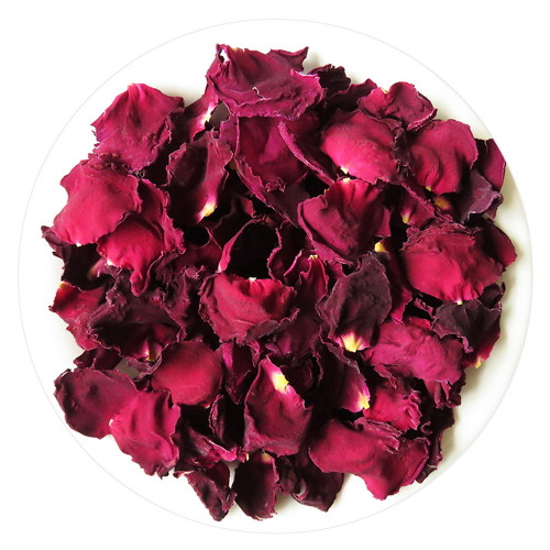 Organic Crimson Glory Dried Natural Bush Rose Petals Herbal Tea 500g