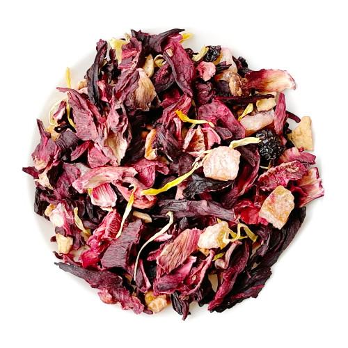 Papaya Assorted Organic Dried Fruits Herbal Tea 500g