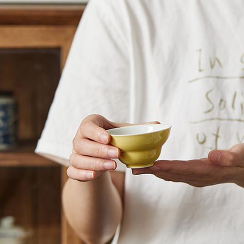 Gourd Ceramic Gongfu Tea Tasting Teacup 40ml