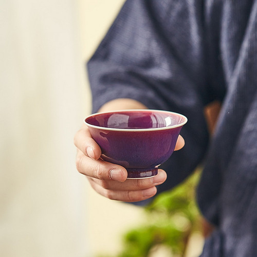 Jun Zi Yao Porcelain Gongfu Tea Tasting Teacup