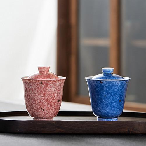 Dian Jin Ceramic Gongfu Tea Gaiwan Brewing Vessel 110ml