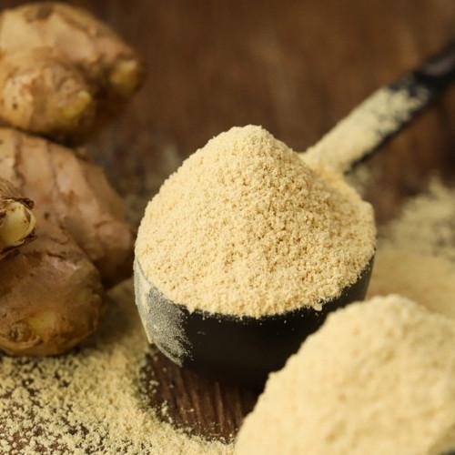 Organic Dry Ginger Root Powder Zingiber Officinale Herbal Tea 500g