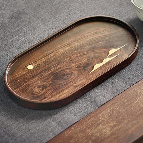 Ebony Wood Tea Tray