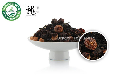 Grapefruit Flavoured Black Tea with Assorted Fruits 500g 1.1 lb