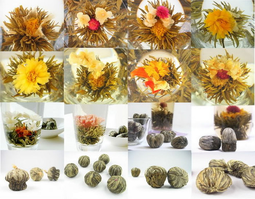 12 Types Gift Blooming Tea * 12 Blooms