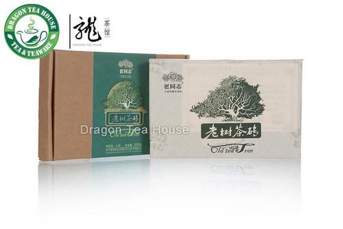 Haiwan Organic Old Tee Tree Pu-erh Brick 2012 500g Raw