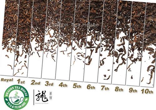 Menghai Loose Pu-erh Tea Assortment Whole Series 11*10g
