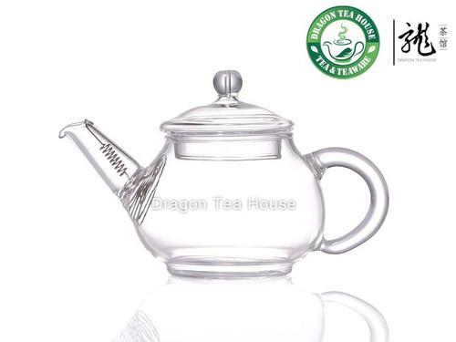 Chinese Clear Glass Teapot 100ml 3.38 fl oz CK-099S