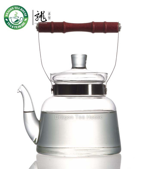 Clear Glass Water Kettle * Glass Teakettle 1.2L FH-717M