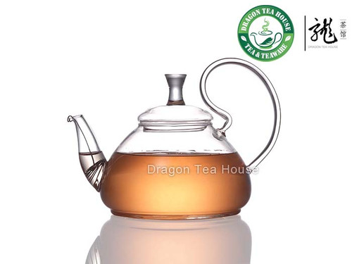 Adventure * Clear Glass Teapot 600ml 20.3 fl oz
