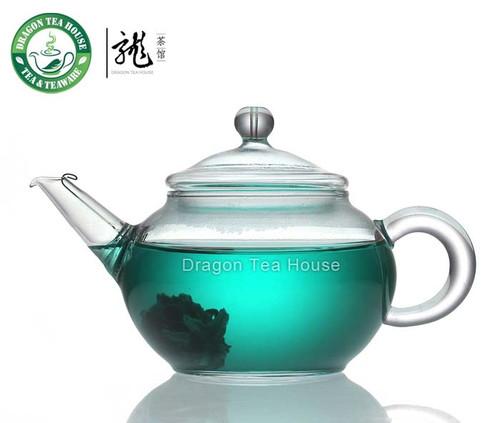 Chinese Clear Glass Tea Pot 220ml B-204