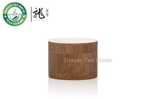 Bamboo Matcha Canister * Powdered Green Tea Caddy
