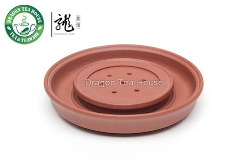Red Yixing Zisha Clay Cha Chuan * Tea Boat