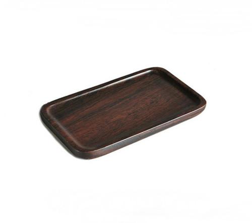 Ebony Rectangle Coaster * Teacup Serving Tray 12*7 cm