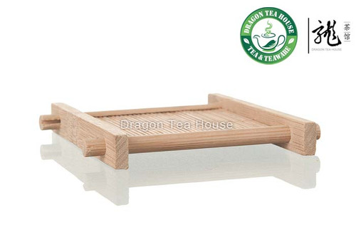 Bamboo Stick Teacup Serving Tray 9*9 cm