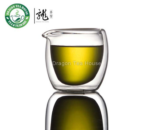 Double Wall Clear Glass Cha Hai Tea Pitcher 200ml (L)