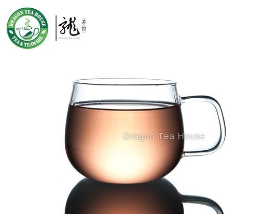 Q-tea * Vatiri Clear Glass Teacup 300ml 10.6 oz VC0004