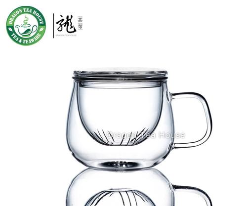Vatiri Clear Glass Mug w/t Infuser 300ml 10.6oz VTC0001