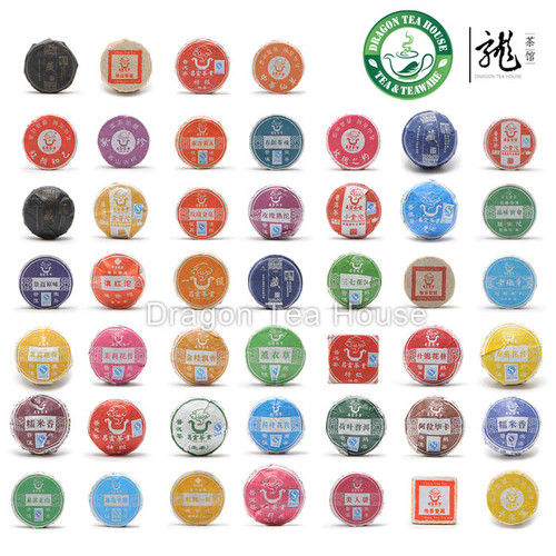 Chang Yun Mini Tuo Cha Puer Tea Assortment 46 Pcs