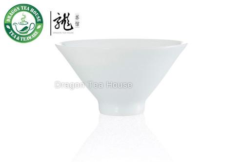Bamboo * Handmade Wide-brimmed Porcelain Teacup 50ml