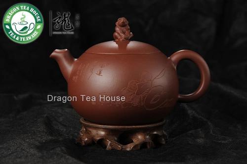 Monkey * Tang Xuan Wu Yixing Zisha Clay Teapot 350ml