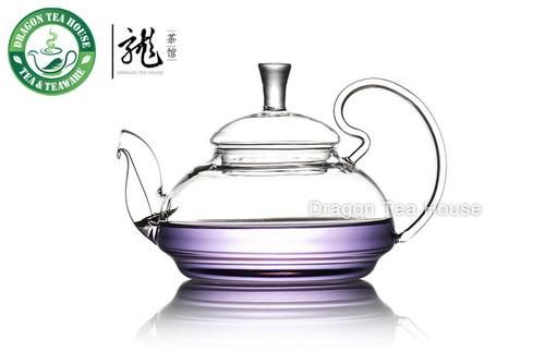Clear Glass Chinese Teapot 500ml 16.9 oz B-279M