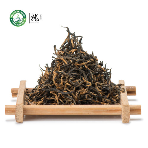 Supreme Organic Non-Smoked Wuyi Golden Buds Lapsang Souchong Chinese Black Tea 500g 1.1 lb
