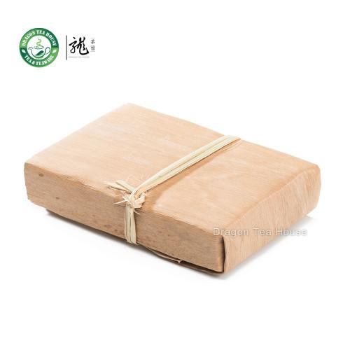 Aged Bamboo Shell Yunnan Pu-erh Tea Brick 2001 250g Ripe