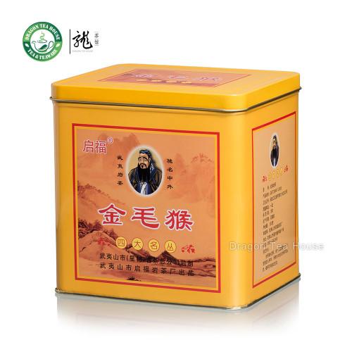 Qi Fu Jin Mao Hou China Fujian Golden Monkey Oolong Tea 500g 1.1 lb Complete Tin