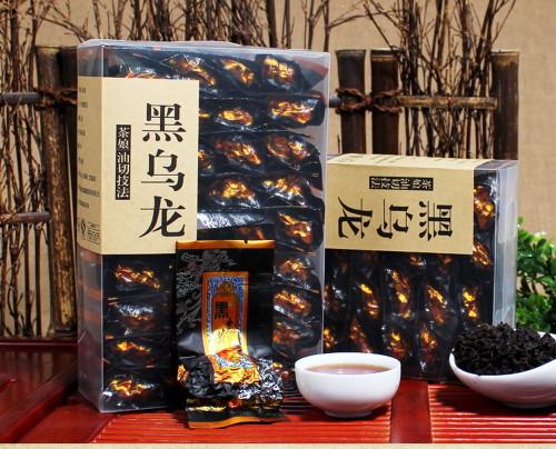 Oil Cut Fast Weight Loss Black Baked Oolong Tea Fat Burn Slimming Fit Diet 250g