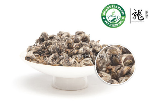 Imperial Organic Jasmine Bai Hao Yin Zhen Handmade Silver Needle Pearl White Tea 500g