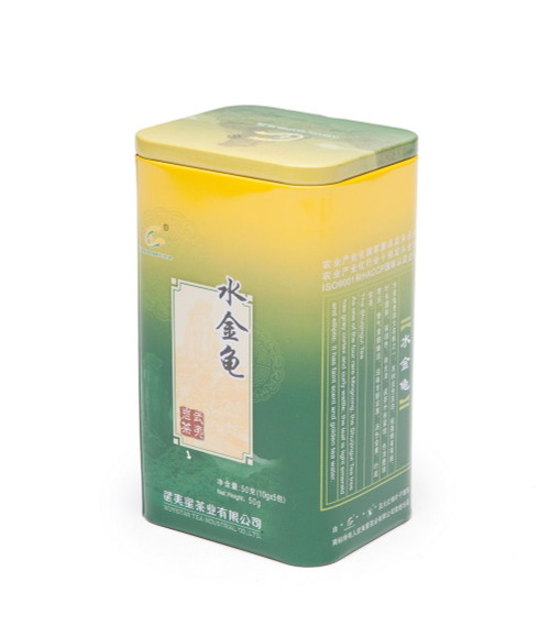Wuyi Star Shui Jin Gui Golden Water Turtle Oolong Wu Yi Shan Yan Cha Rock Tea 10g x 5 Pouches Complete Tin