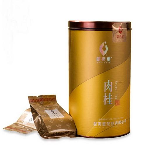 Wuyi Star New Rou Gui Rougui China Cinnamon Fujian Wu Yi Oolong Rock Tea Yan Cha 7gx15 Bags Complete Can