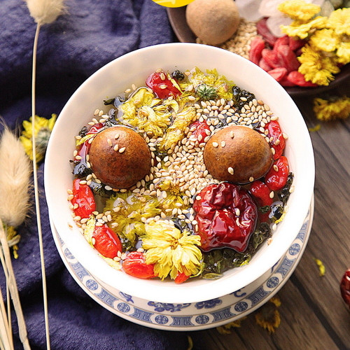 Lanzhou Eight Treasures Ba Bao Cha Asssorted Herbs & Fruits Chinese Bowl Tea 45gx18 Bags