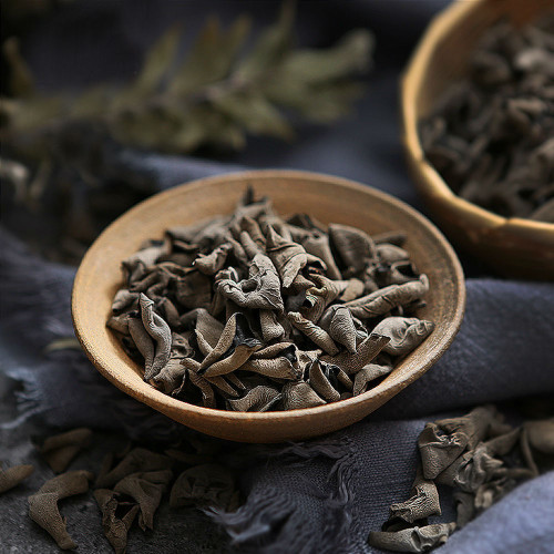 Organic Top Wild Dried Black Fungus Wood Ear Auricularia Polytricha Mushroom 500g