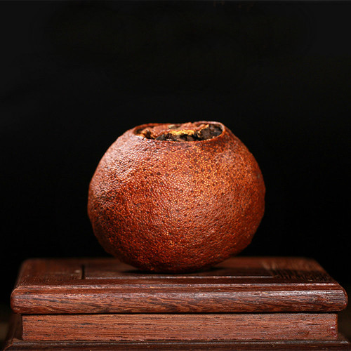 Dried Xinhui Aged Chenpi Orange Pu'er Yunnan Pu-erh Tea Stuffed Tangerine Ripe 10PCS