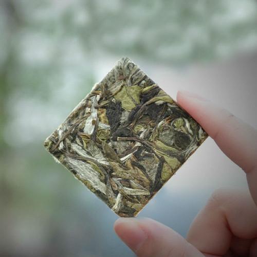 Premium Organic Fuding Bai Mu Dan Flake White Peony Pai Mu Tan China White Tea 5pcs
