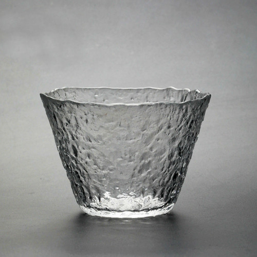 Japanese Handmade Heat Resistant Crystal Glass Gongfu Teacup Tea Cup Bowl 180ml