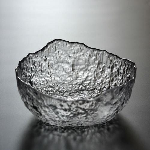 Handmade Heat Resistant Glass Cha Xi Water Bowl for Gongfu Tea Cups 1200ml 40oz