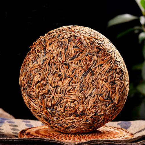 Supreme Yunnan Fengqing Golden Melon Needle Buds Dian Hong Yunnan Black Tea 500g
