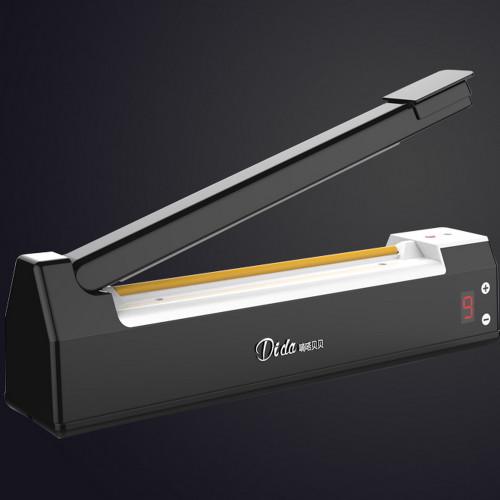 Digital LED Impulse Plastic Bag Heat Sealer Tabletop Sealing Machine 210mm 220V