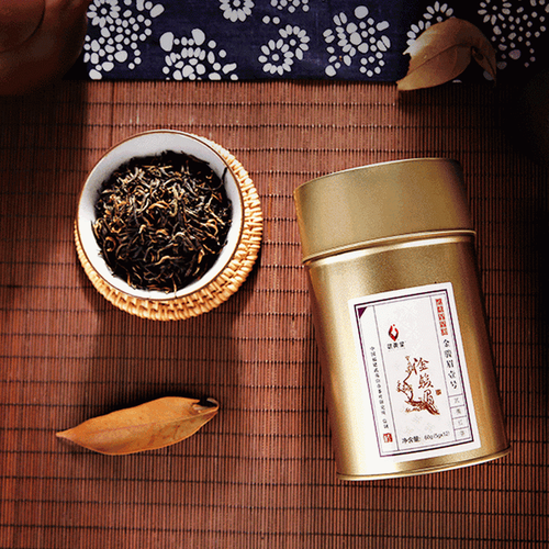 Wuyi Star Xinyuan No. 1 Jin Jun Mei Premium Golden Eyebrow Black Tea 60g Tin