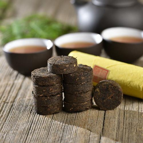 Aged Tibetan Dark Tea Ya'an Ya An Zang Cha Mini Cakes 2011 50g