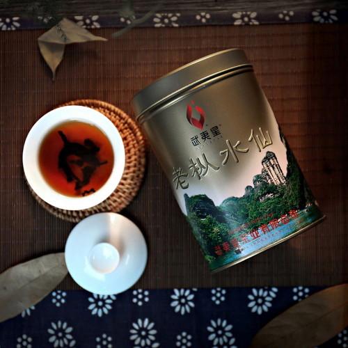WuyiStar Premium Lao Cong Shui Xian Oolong Fujian Rock Tea Yan Cha 125g Gold Tin