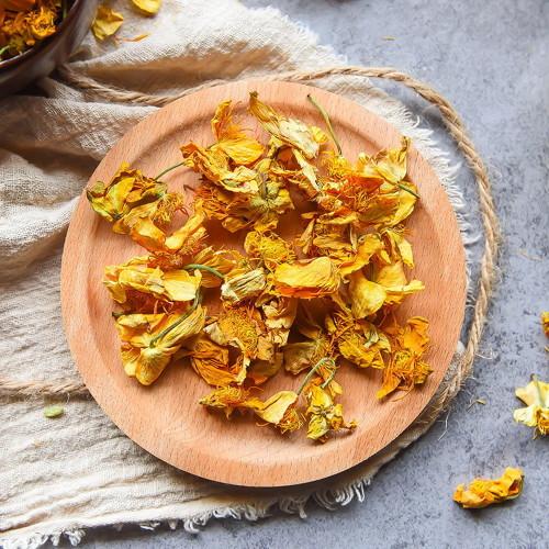 Organic Dried Garden Nasturtium Flowers Tropaeolum Majus Indian Cres Herbal Tea 500g